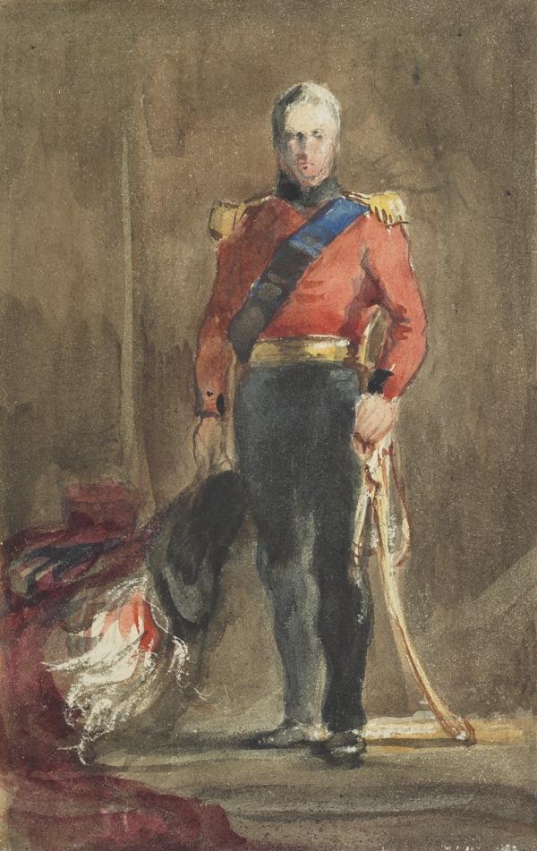 William IV. Copy after Sir David Wilkie