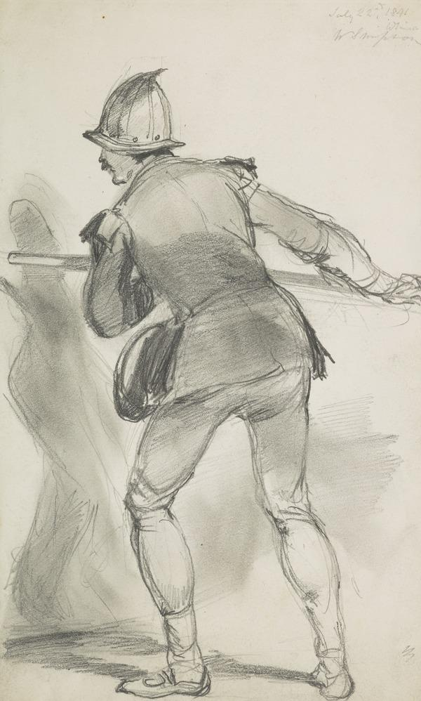 A Pikeman (Dated July 22nd 1841)