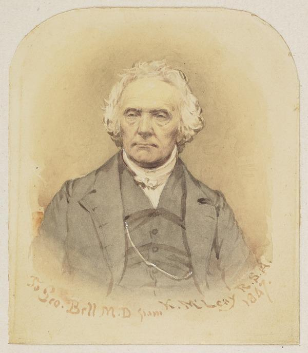 Rev. Thomas Chalmers, 1780 - 1847. Preacher and social reformer (Dated 1847)