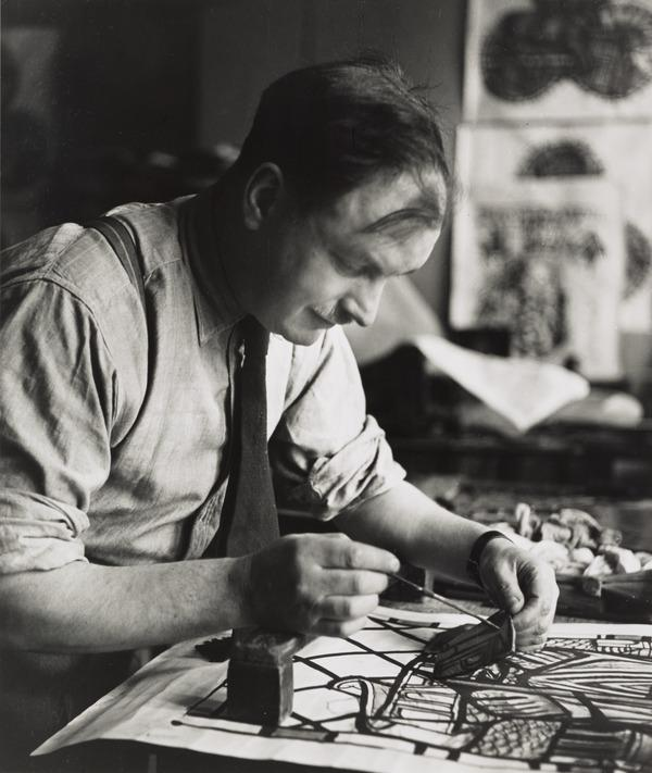 William Wilson, 1905 - 1972. Etcher and stained glass artist (1949)