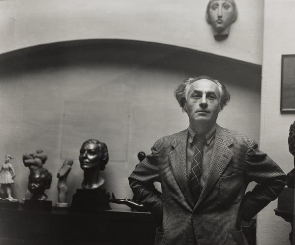 Benno Schotz, 1891 - 1984. Sculptor (1949)