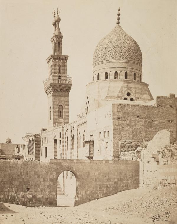 'The Mosque of the Emeer Akhoor, Cairo'. (1858 (engraved inscription 1857))