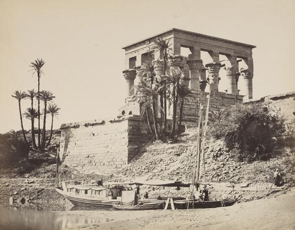'The Hypaethral Temple, Philae'. (1857)