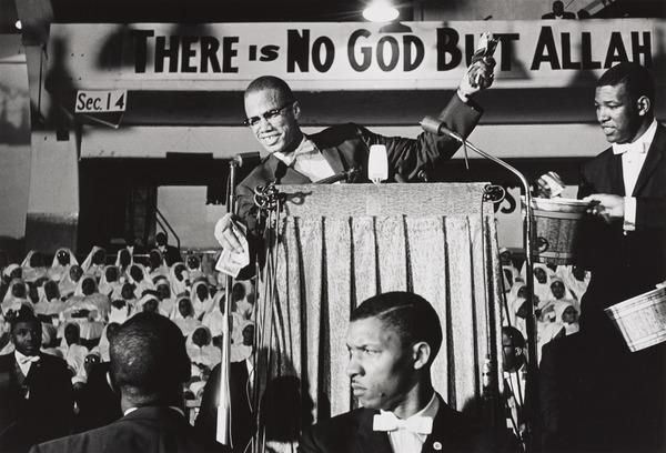 Malcolm X Collecting Money for the Black Muslims, Washington, D. C. (1960)