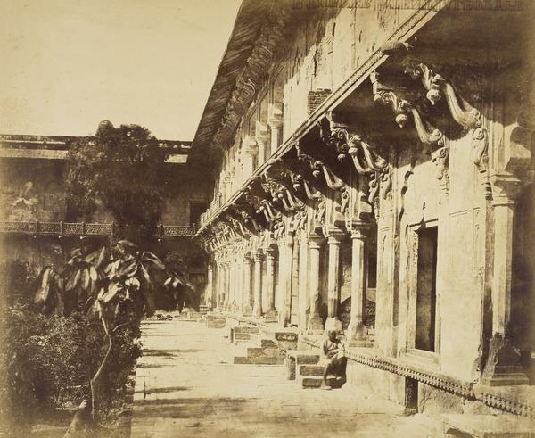 Buildings in the Fort at Agra (Mid 1850s)