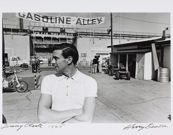 James 'Jim' Clark, 1936 - 68. Formula One Racing Driver (1965 (printed 2007))