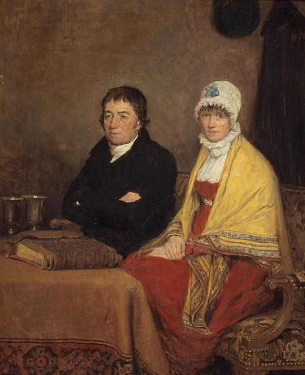 The Artist's Parents (The Revd David Wilkie, 1738 - 1812 and his Wife Isabella Lister, 1763 - 1824) (1813)