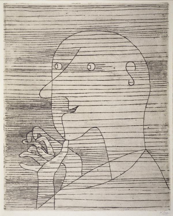 Rechnender Greis [Old Man Calculating] (1929)