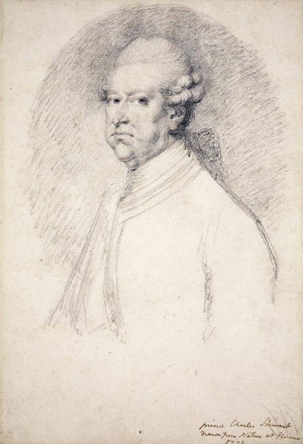Prince Charles Edward Stuart 1720 - 1788. Eldest son of Prince James Francis Edward Stuar (1776)