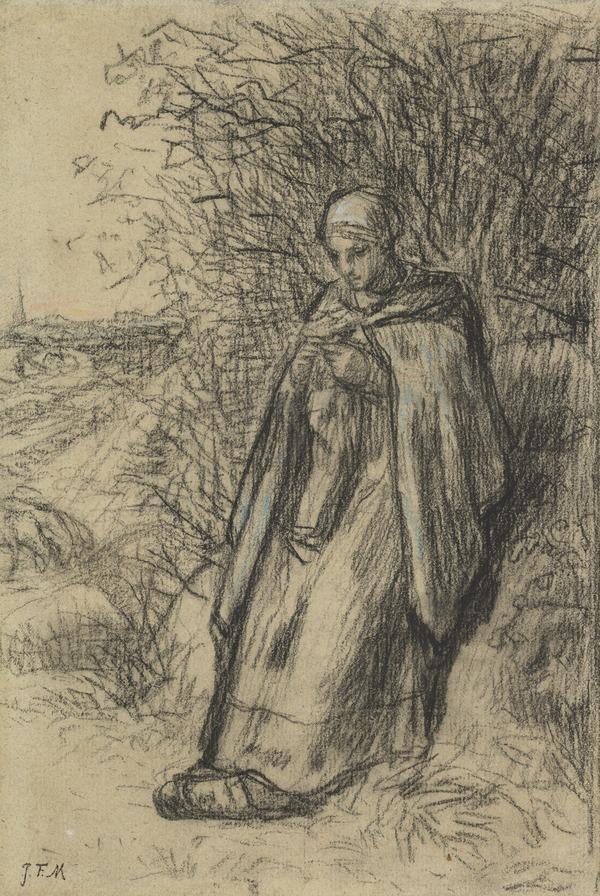 A Shepherdess