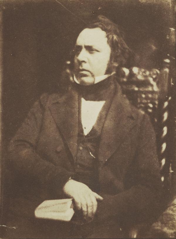 Professor James Bannerman, 1807 - 1868. Professor of Apologetics and Pastoral Theology, New College, Edinburgh (1843 - 1847)