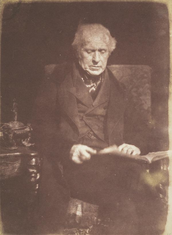 Sir David Brewster, 1781 - 1868. Natural philosopher (1843)