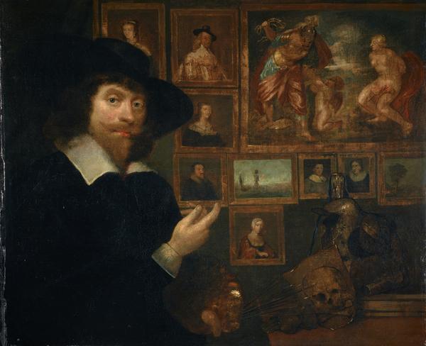 George Jamesone, 1589 / 1590 - 1644. Portrait painter (Self-portrait) (About 1642)