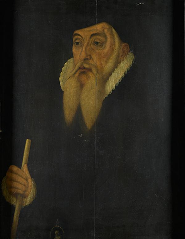 Unidentified elderly, bearded gentleman, c 1590 (18th century)