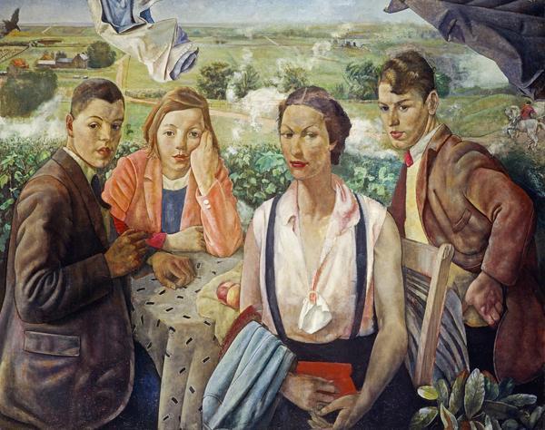 A Portrait Group (1933 / about 1940)