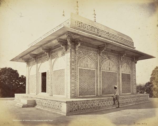 'Mausoleum of Prince Etmad-Dowlah, Agra'.