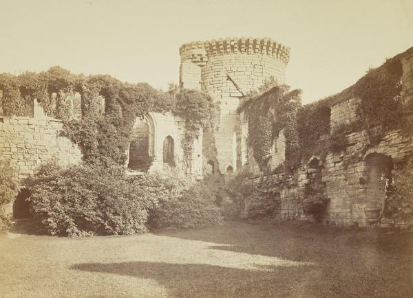 Bothwell Castle, the Interior (1860s)