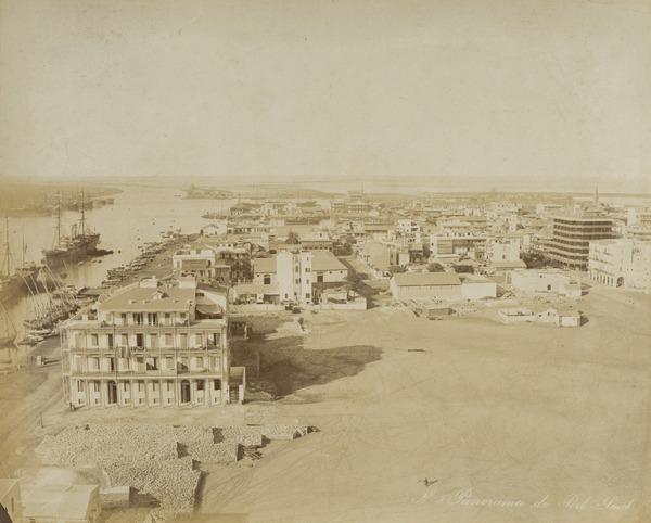 'Panorama de Port-Said'.