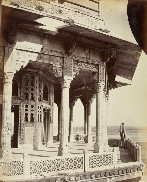 'Zenana in Fort, Agra'.