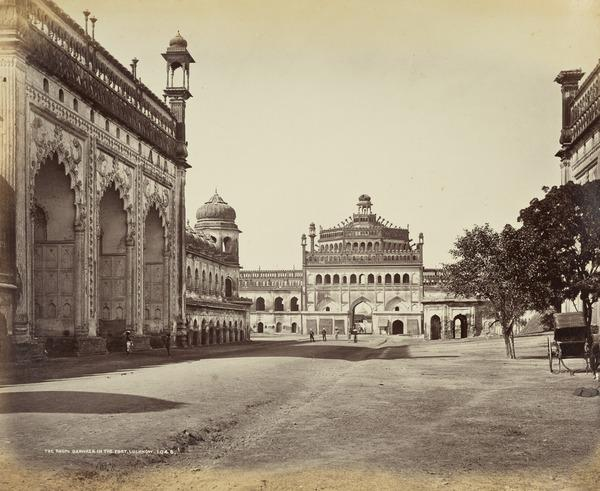 'The Roumi Darwaza in the Fort, Lucknow