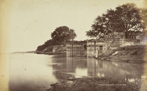 'Suttee Chowra Ghat, Cawnpore, 1208'.