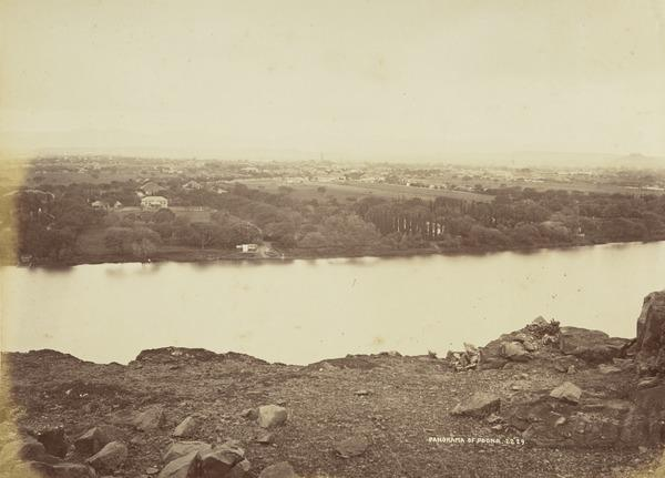 'Panorama of Poona'.