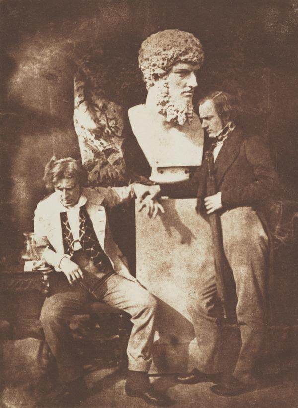 David Octavius Hill and Professor James Miller. Known as 'The Morning After