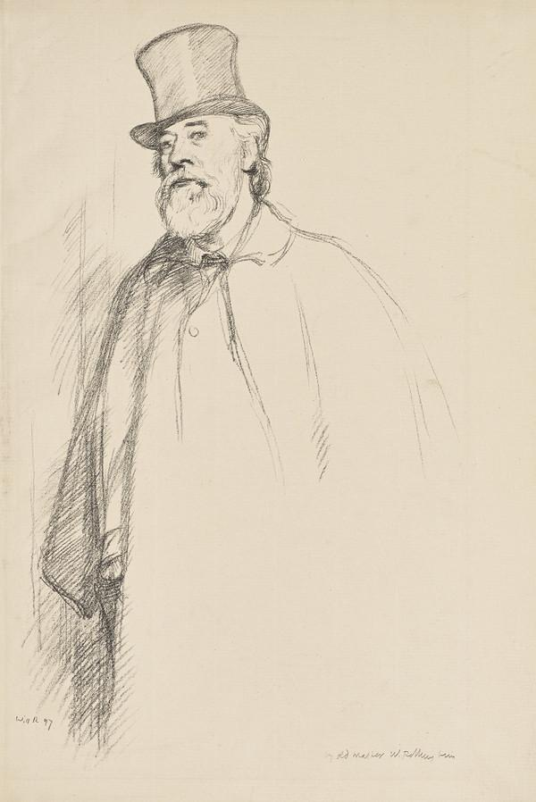Portrait of Alphonse Legros (Dated 1897)