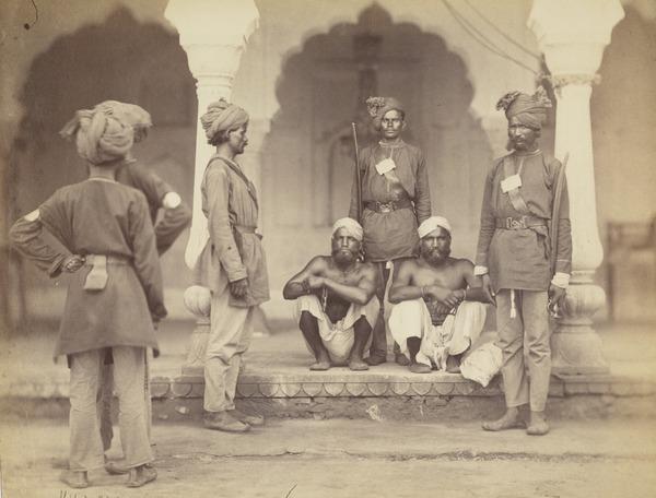 Indian Policeman and Criminals, Delhi