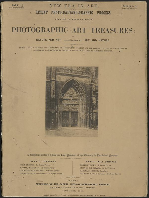 Photographic Art Treasures: Nature and Art illustrated by Art and Nature (1856)