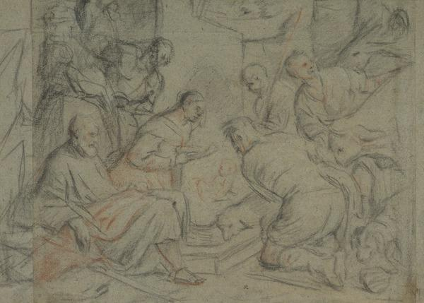 The Adoration of the Shepherds (after Jacopo Bassano) (1580 - 1600)