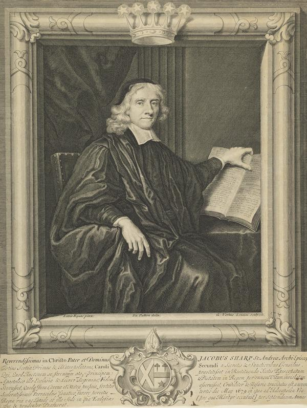 James Sharp, 1613 - 1679. Archbishop of St Andrews (1710)