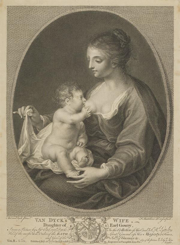 Mary Ruthven, d. 1645. Wife of Sir Anthony van Dyck (Published 1770)