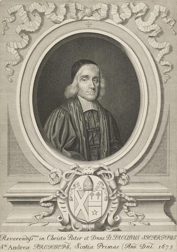 James Sharp, 1613 - 1679. Archbishop of St Andrews