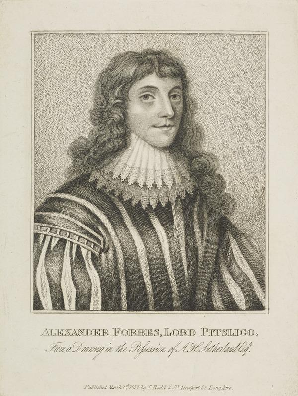 Alexander Forbes of Pitsligo, 1st Lord Forbes, d. 1636 (Published 1797)