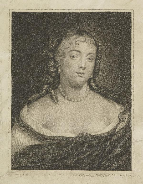 Anna Hamilton, Countess of Southesk, d. 1695. Wife of R. Carnegie, 3rd Earl of Southesk (Published 1792)