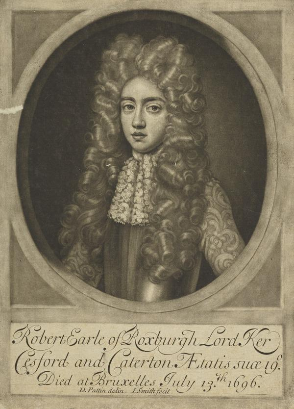 Robert Ker, 4th Earl of Roxburghe, c 1677 - 1696