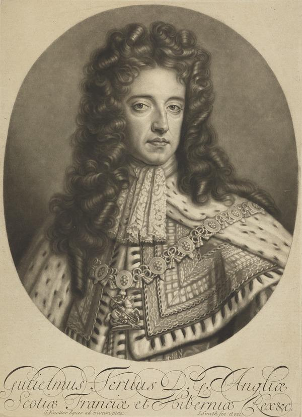 William III, 1650 - 1702. Reigned 1688 - 1702