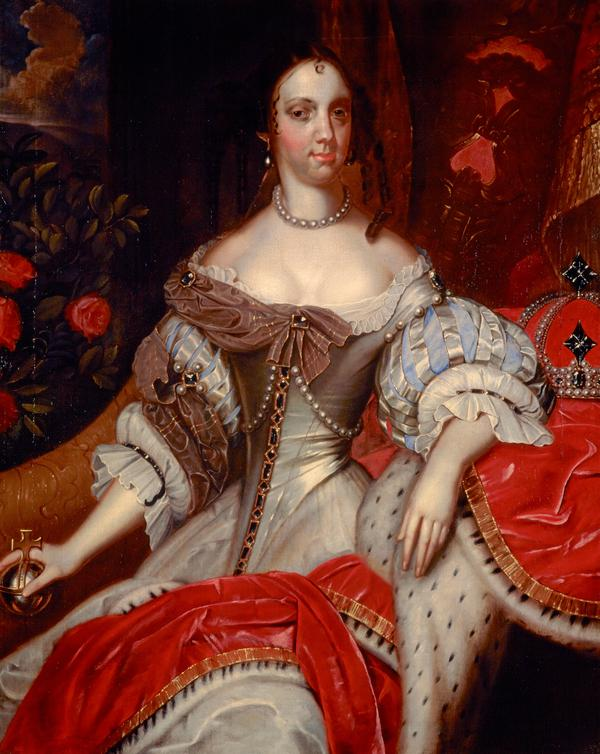 Catherine of Braganza, 1638 - 1705. Queen of Charles II (Around 1662 - 1665)