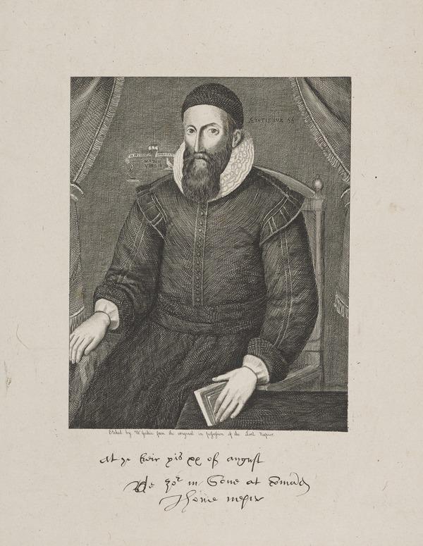 John Napier of Merchiston, 1550 - 1617. Discoverer of logarithms