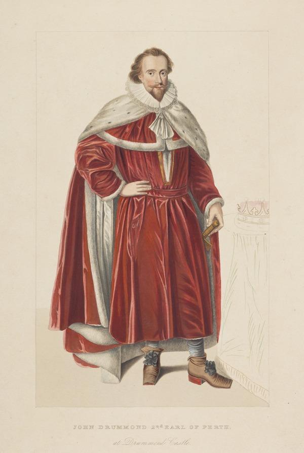 John Drummond, 2nd Earl of Perth, d. 1662